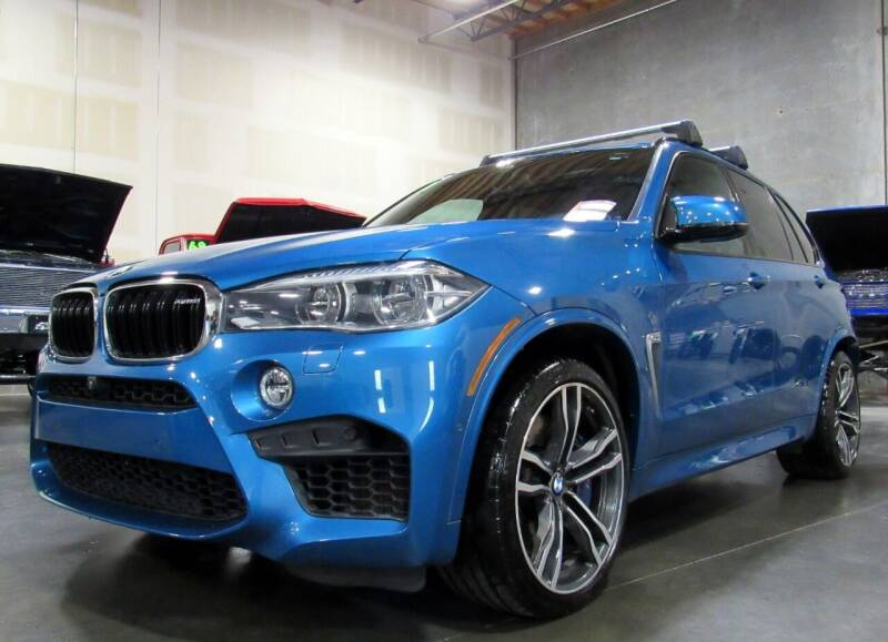 2018 BMW X5 M for sale at Platinum Motors in Portland OR