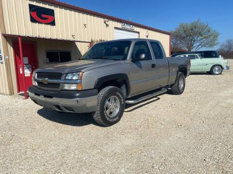 2003 Chevrolet Silverado 1500 for sale at Gtownautos.com in Gainesville TX
