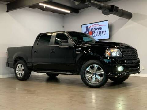 2008 Ford F-150 for sale at Texas Prime Motors in Houston TX