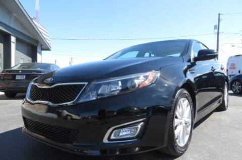 2015 Kia Optima for sale at Eddie Auto Brokers in Willowick OH