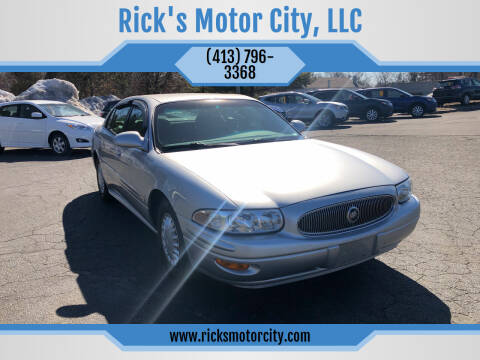 2003 Buick LeSabre for sale at Rick's Motor City, LLC in Springfield MA