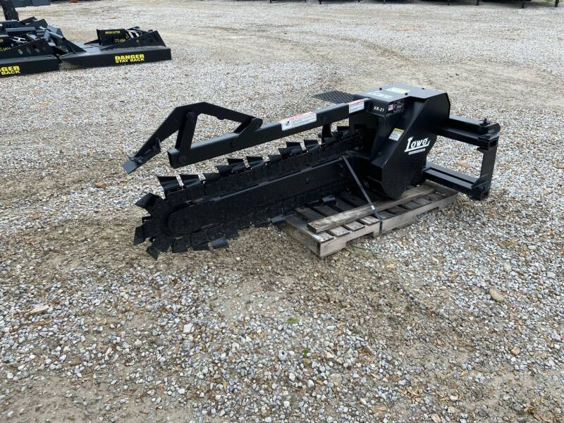2021 Lowe XR14-48X6 Skid Steer Trencher for sale at Ken's Auto Sales & Repairs in New Bloomfield MO