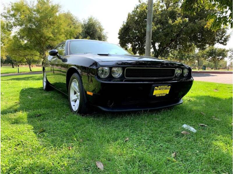2013 Dodge Challenger for sale at D & I Auto Sales in Modesto CA