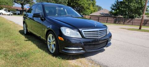 2012 Mercedes-Benz C-Class for sale at Bad Credit Call Fadi in Dallas TX