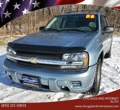 2006 Chevrolet TrailBlazer for sale at Chicagoland Internet Auto - 410 N Vine St New Lenox IL, 60451 in New Lenox IL