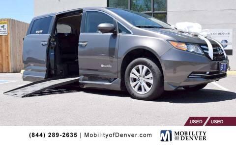 2016 Honda Odyssey for sale at CO Fleet & Mobility in Denver CO