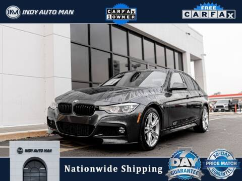 2018 BMW 3 Series for sale at INDY AUTO MAN in Indianapolis IN