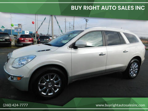 2011 Buick Enclave for sale at Buy Right Auto Sales Inc in Fort Wayne IN