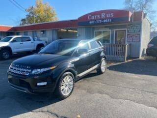 2013 Land Rover Range Rover Evoque for sale at Cars R Us in Binghamton NY