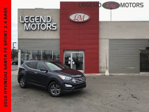 2016 Hyundai Santa Fe Sport for sale at Legend Motors of Detroit - Legend Motors of Ferndale in Ferndale MI