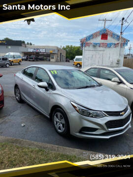 2017 Chevrolet Cruze for sale at Santa Motors Inc in Rochester NY