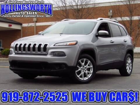 2014 Jeep Cherokee for sale at Hollingsworth Auto Sales in Raleigh NC