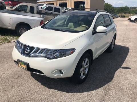 2009 Nissan Murano for sale at Central Automotive in Kerrville TX