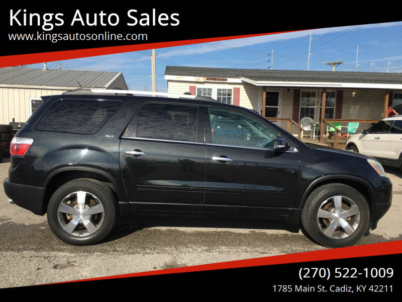 2012 GMC Acadia for sale at Kings Auto Sales in Cadiz KY