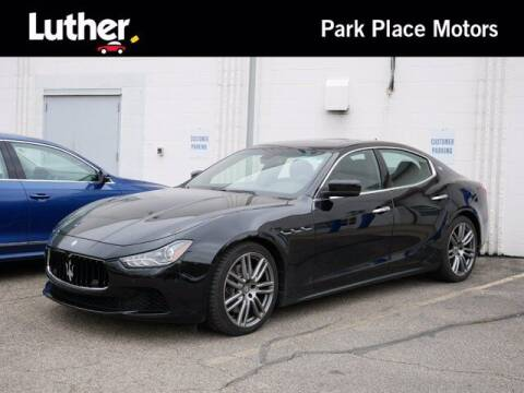 2015 Maserati Ghibli for sale at Park Place Motor Cars in Rochester MN