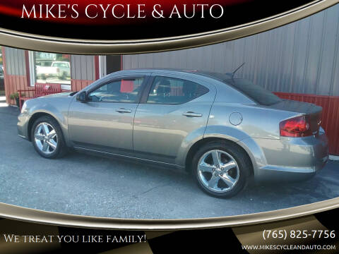 2013 Dodge Avenger for sale at MIKE'S CYCLE & AUTO - Mikes Cycle and Auto (Liberty) in Liberty IN