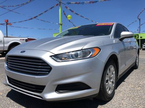 2014 Ford Fusion for sale at 1st Quality Motors LLC in Gallup NM