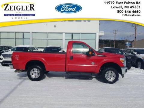 2015 Ford F-250 Super Duty for sale at Zeigler Ford of Plainwell- Jeff Bishop in Plainwell MI