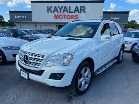 2011 Mercedes-Benz M-Class for sale at KAYALAR MOTORS in Houston TX
