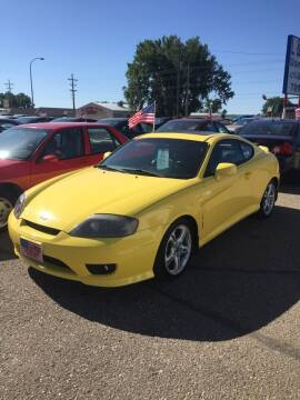 2006 Hyundai Tiburon for sale at L & J Motors in Mandan ND