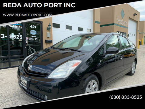 2005 Toyota Prius for sale at REDA AUTO PORT INC in Villa Park IL