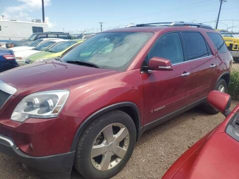 2007 GMC Acadia for sale at PYRAMID MOTORS - Fountain Lot in Fountain CO