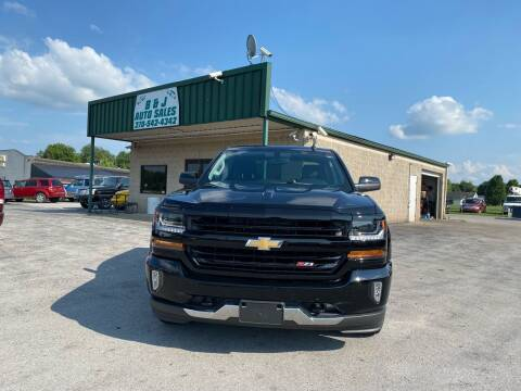 2017 Chevrolet Silverado 1500 for sale at B & J Auto Sales in Auburn KY