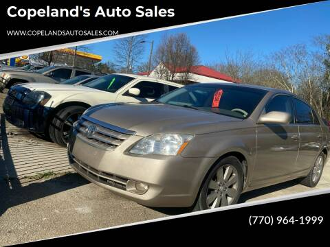 2005 Toyota Avalon for sale at Copeland's Auto Sales in Union City GA