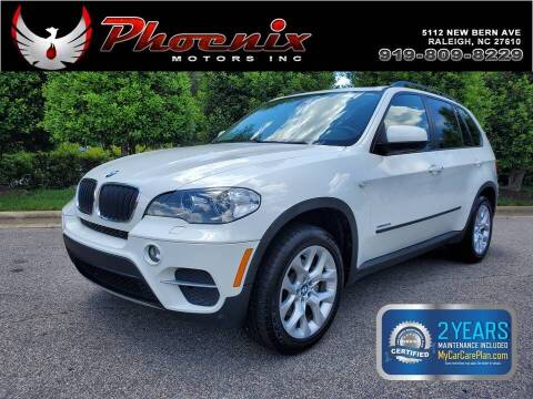2012 BMW X5 for sale at Phoenix Motors Inc in Raleigh NC