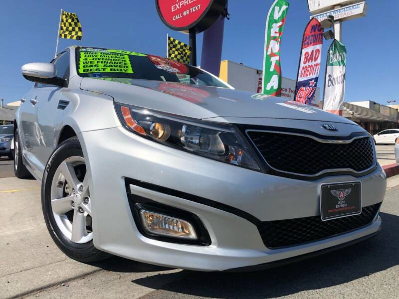 2015 Kia Optima for sale at Auto Express in Chula Vista CA