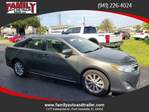 2013 Toyota Camry for sale at Family Auto and Trailer Sales LLC in Port Charlotte FL