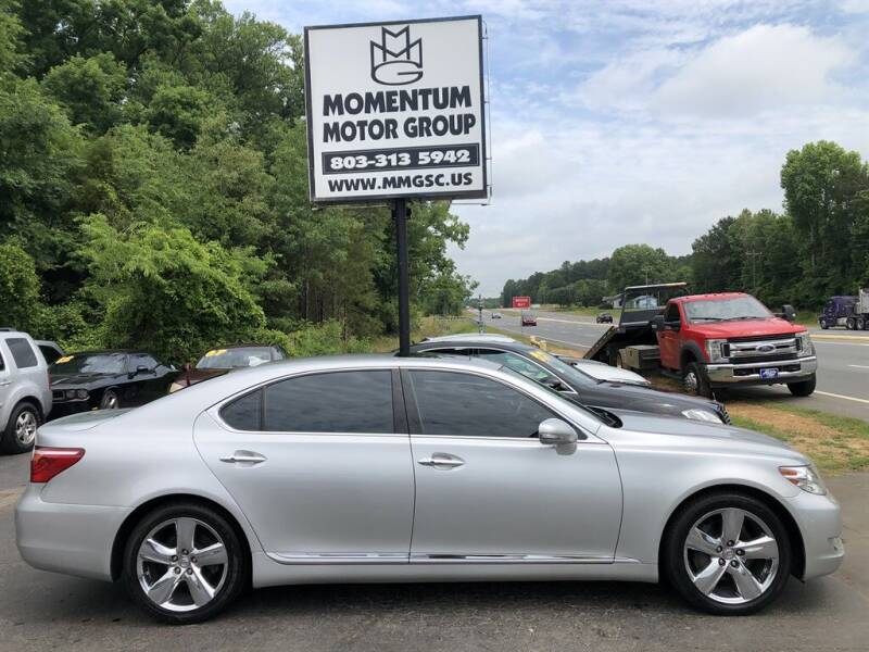2010 Lexus LS 460 for sale at Momentum Motor Group in Lancaster SC
