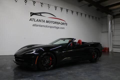 2014 Chevrolet Corvette for sale at Atlanta Motorsports in Roswell GA