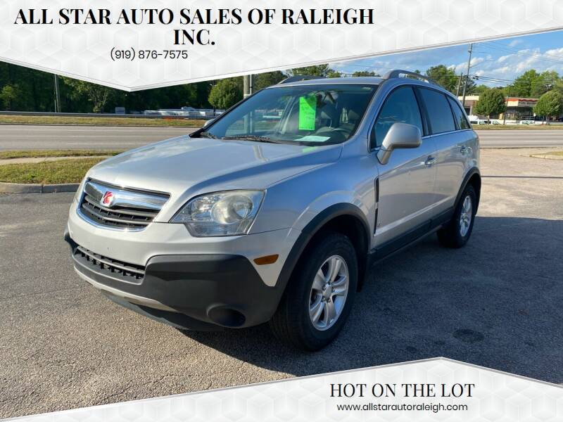 2008 Saturn Vue for sale at All Star Auto Sales of Raleigh Inc. in Raleigh NC
