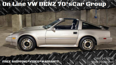 1986 Nissan 300ZX for sale at On Line VW BENZ 70'sCar Group in Warehouse CA