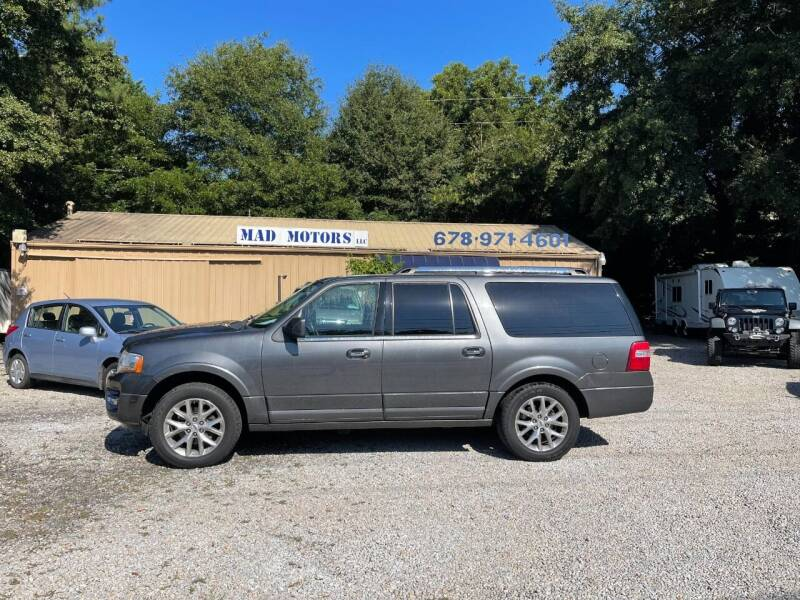 2015 Ford Expedition EL for sale at Mad Motors LLC in Gainesville GA