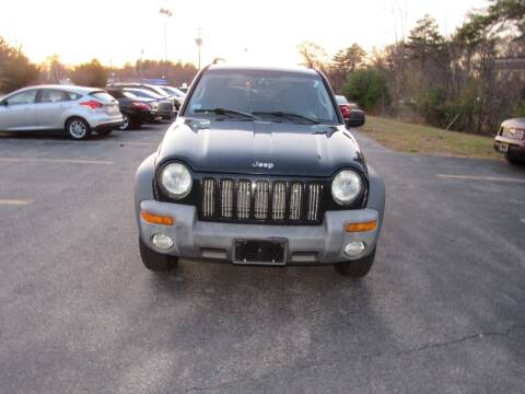 2004 Jeep Liberty for sale at Heritage Truck and Auto Inc. in Londonderry NH