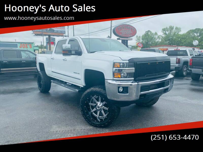 2015 Chevrolet Silverado 2500HD for sale at Hooney's Auto Sales in Theodore AL