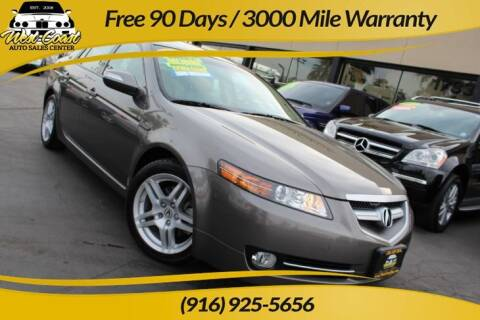 2008 Acura TL for sale at West Coast Auto Sales Center in Sacramento CA