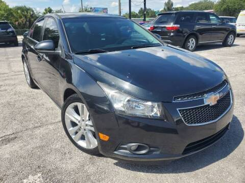 2012 Chevrolet Cruze for sale at Mars auto trade llc in Kissimmee FL