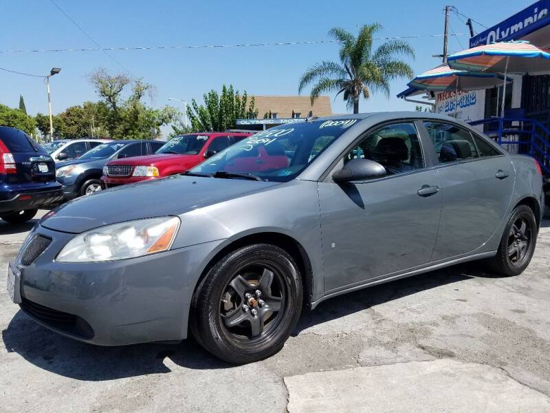 2009 Pontiac G6 for sale at Olympic Motors in Los Angeles CA
