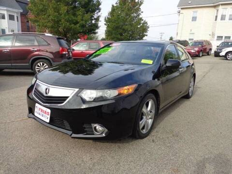 2011 Acura TSX for sale at FRIAS AUTO SALES LLC in Lawrence MA