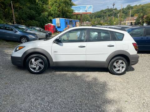2003 Pontiac Vibe for sale at Compact Cars of Pittsburgh in Pittsburgh PA