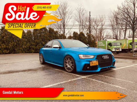 2013 Audi S4 for sale at Gondal Motors in West Hempstead NY