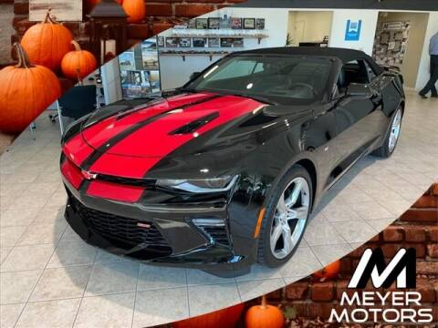 2016 Chevrolet Camaro for sale at Meyer Motors in Plymouth WI