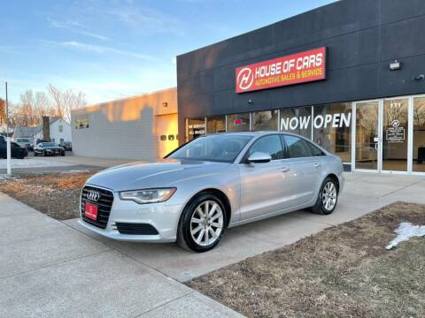 2013 Audi A6 for sale at HOUSE OF CARS CT in Meriden CT