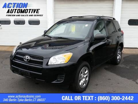 2012 Toyota RAV4 for sale at Action Automotive Inc in Berlin CT
