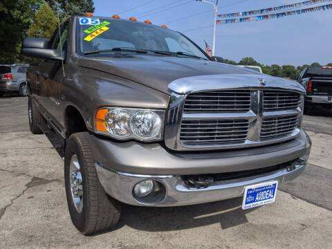 2005 Dodge Ram Pickup 2500 for sale at GREAT DEALS ON WHEELS in Michigan City IN