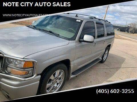 2006 GMC Yukon XL for sale at NOTE CITY AUTO SALES in Oklahoma City OK