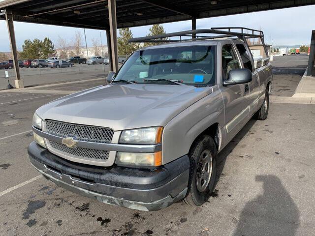 2004 Chevrolet Silverado 1500 for sale at AUTO NATIX in Tulare CA